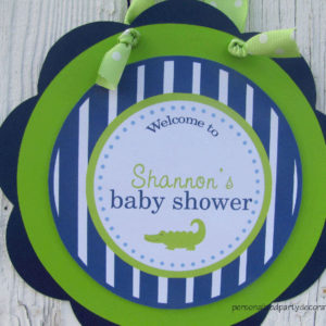 alligator-baby-shower-door-sign-1