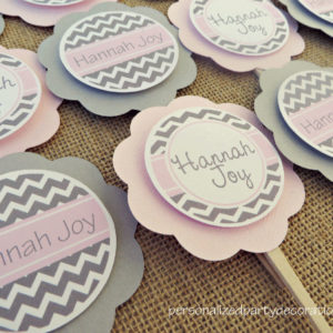 chevron-baby-shower-cupcake-toppers-1