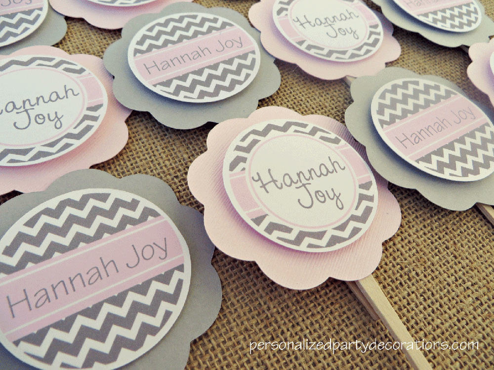 decorations shop all baby shower chevron baby shower cupcake