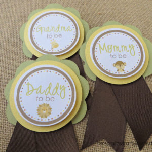 jungle baby shower mom to be pin (4)