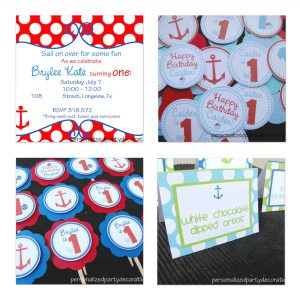 Nautical Birthday Decorations