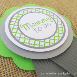 quatrefoil baby shower mom to be pin (2)