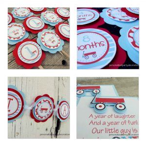 Wagon Birthday Decorations