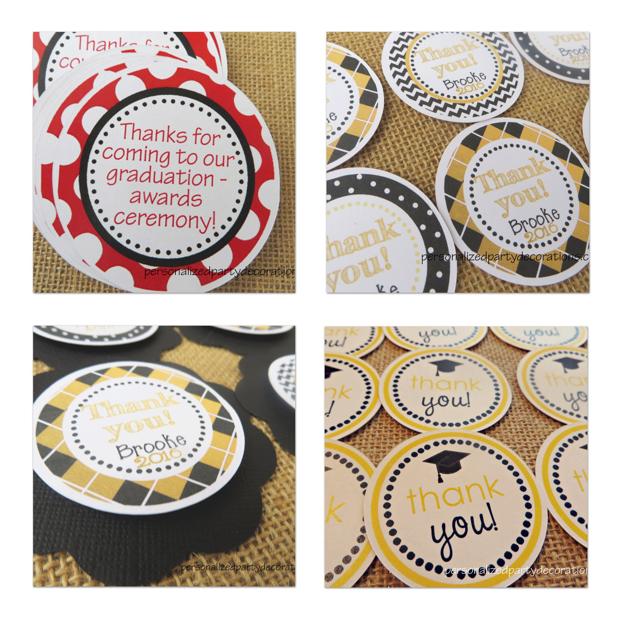 Favor Tags and Stickers