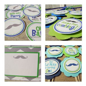 Mustache Birthday Decorations