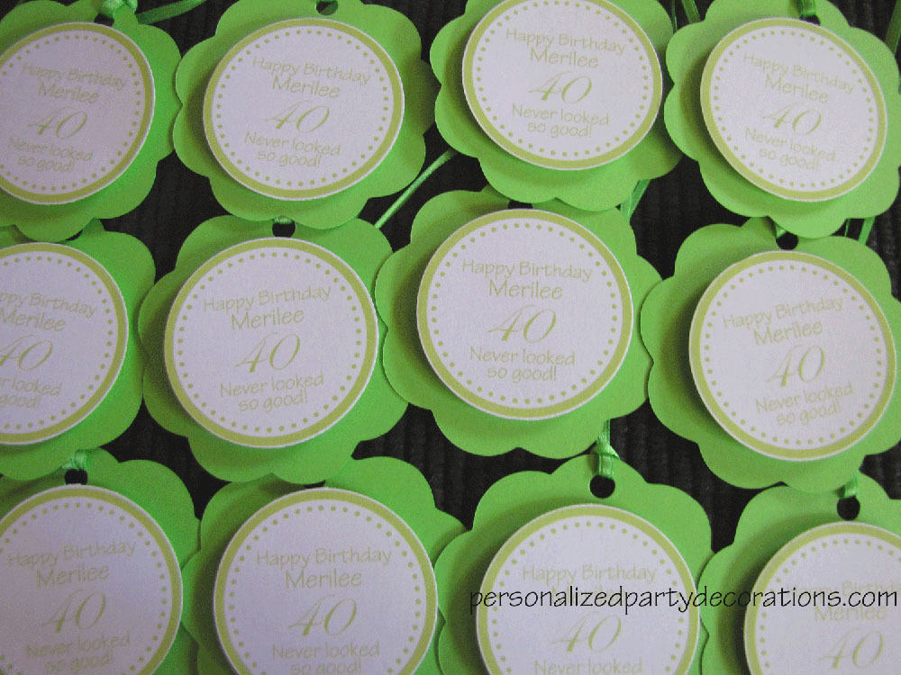 Birthday favor adult party