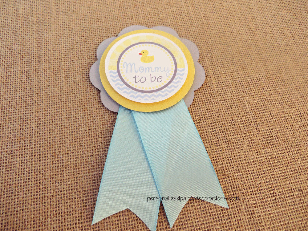 Duck Baby Shower Mom To Be Pin