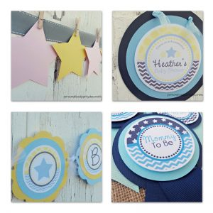 Star Baby Shower Decor