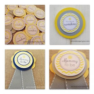 Sunshine Baby Shower Decor