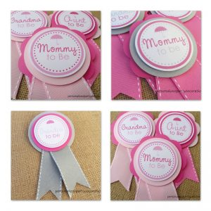 Umbrella Baby Shower Decor