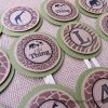 Wild Thing Birthday Party Cupcake Toppers