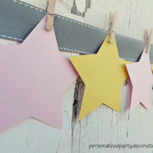 star baby shower advice cards