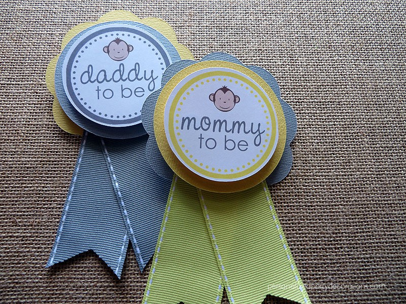mommy to be monkey pin