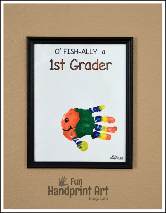 O-FISH-ally-a-1st-Grader-Handprint-FIsh-Keepsake