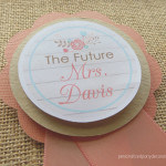 country bridal shower bride to be pin