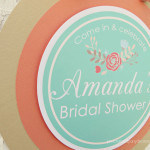 country bridal shower welcome sign