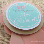country shower bride to be pin