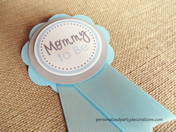 Baby Shower Mom To Be Pin
