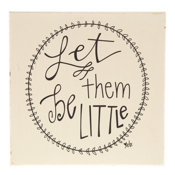 let-them-be-little-sign