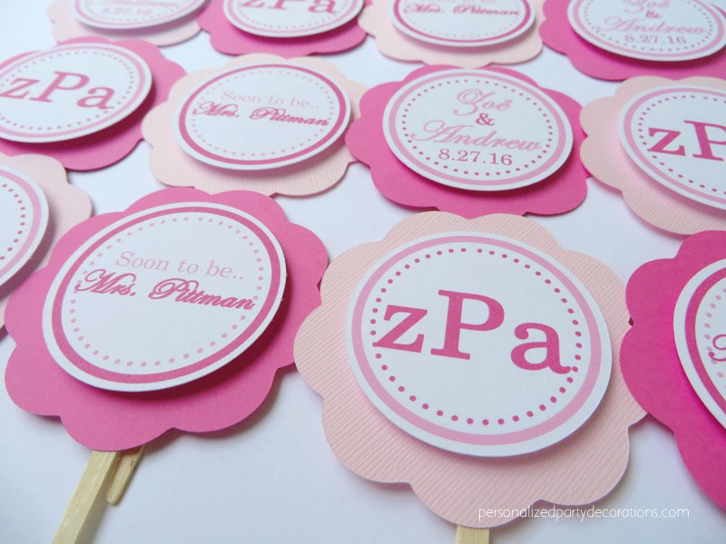 monogram-bridal-shower-cupcake-toppers