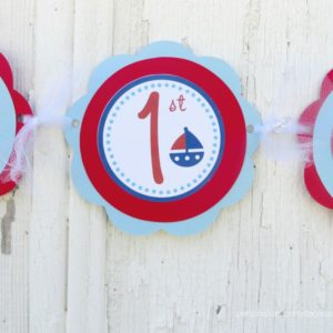 nautical-first-birthday-party-banner