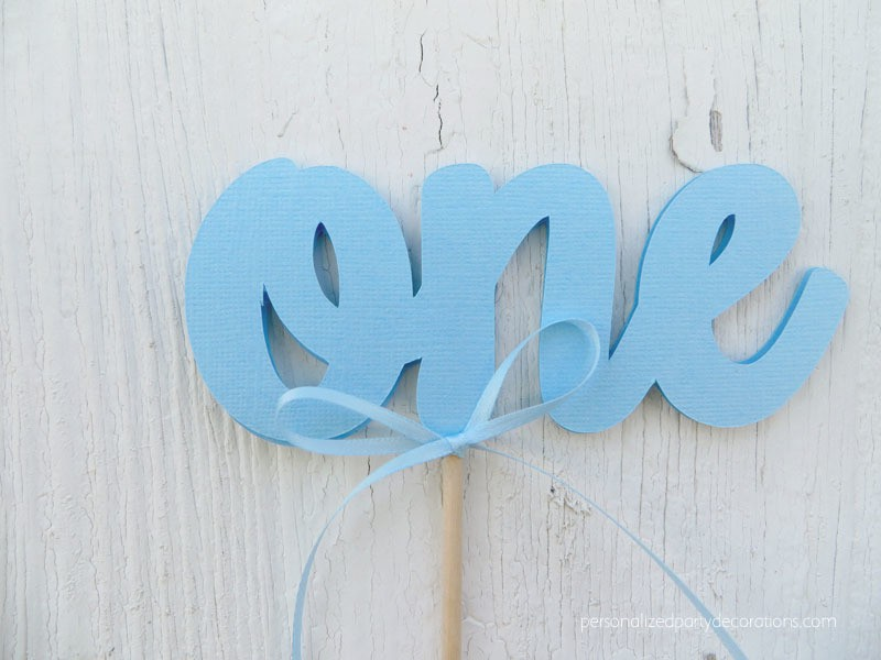 one-cake-topper