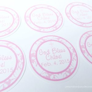 pink-damask-baptism-favor-tags