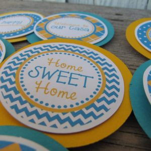 House Warming Party Cupcake Toppers