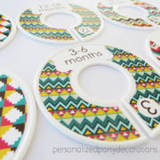 chevron baby clothes dividers 3