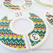 chevron toddler clothes dividers 3