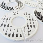 tribal toddler clothes dividers 2