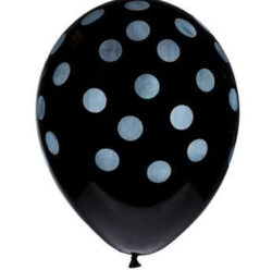 black dot balloon