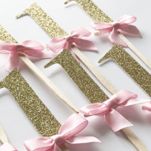 Glitter Birthday Decorations